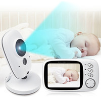 Wholesale 3 inch LCD Wireless Video Baby Camera Monitor Night Vision Nanny Security Camera Temperature Monitoring VOX Babysitter Monitor