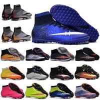 art tables for kids - Cheap Original Soccer Cleats Mercurial Superfly CR7 FG Kids Soccer Shoes For Boys Sock Boots Football High Top ACC Ronaldo Mens Ankle Boost