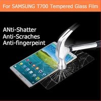 best tablets - Best Premium tempered glass film For Samsung Galaxy Tab S T700 T705 quot tablet pc Anti shatter LCD Screen Protector Film