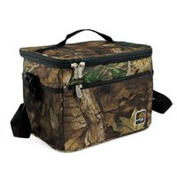 Wholesale Fashion large square camouflage pattern insulation package ice pack picnic bag portable lunch bag factory