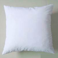 anti decubitus - poly plain white DIY Blank Sublimation pillow case pillow cover gsm fabric cm square white pillow case for DIY print paint