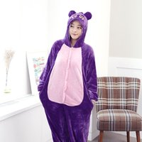 Wholesale Anime Sailor Moon Diana Purple Luna Cat Cosplay Onesie Adult Women Men Cosplay Winter Pajamas Party Costumes