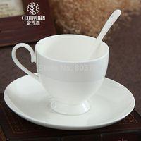 Wholesale Creative Suite bone china tea mugs British Red cup ceramic cup