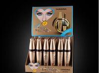 aa extension - 2016 YANQINA Silicone Brush Mascara Waterproof Black Mascara Volume Curling Eyelash Extension Makeup Cosmetic Mascara Liquid fast dhl aa