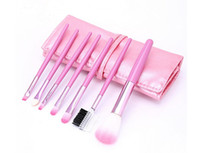 make up factory - Professional Makeup Brush Set Pro Cosmetic pc Makeup Make Up Cosmetic Brush Set Kit Leather Case Factory Direct