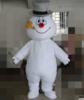 Wholesale sell like hot cakes Galaxy dolls arctic snow man doll cartoon mascot costume Cartoon Doll clothing
