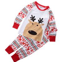 Wholesale 2016 Minnie Mouse Boys Girls Kid Pajamas Set Christmas Cartoon baby sleepwear Set