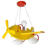 airplane pendant light - Yellow Cartoon Airplane Baby Room Pendant Lamps Creative Children s Room Pendant Light Boy Bedroom Pendant Lights