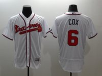 atlanta store - 2016 New Cool Flexbase Mens Bobby Cox Baseball Jerseys Atlanta Braves White Cheap Outlets Store