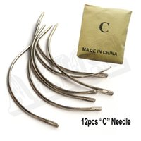 Wholesale C Shape Needles cm Curved Needle Weaving Hair Needles For Hair Weave