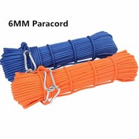 Wholesale 1m mm Paracord Auxiliary Rope survival Safety Professional durable paracord rope for outdoor Climbing Cord