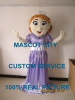 Cheap Princess Sofia Mascot Costume custom fancy costume anime cosply kits mascotte fancy dress carnival costume 40049