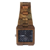 bewell watch - Bewell Luxury Brand Wood Square Watch men Analog Quartz Date Waterproof Male Watches Wristwatches relogio masculino