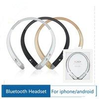 Wholesale HOT New Bluetooth Headset for LG iPhone Samsung Tone HBS913 HBS Wireless Mobile Earphone Bluetooth Headphone