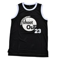Wholesale Motaw Tournament Shoot Out Birdmen Basketball Jersey Above The Rim Shoot Out Movie Baketbal Jerseys Color Black Jerseys
