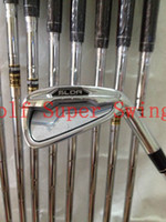 Wholesale Brand New Golf Clubs Irons SLDR Golf Irons Set PAS Dynamic Gold Steel Shafts DHL