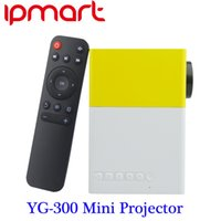 av input - Newest YG300 Portable LED Projector Cinema Theater PC Laptop USB SD AV HDMI Input Mini Pocket Projector