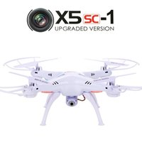 Wholesale US STOCK Syma X5SC G CH Axis Headless Mode RC Quadcopter Drone UFO MP Camera HD RTF GYRO White
