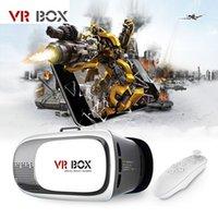 Wholesale VR BOX II Google Cardboard VR Virtual Reality D Glasses Bluetooth Gamepad