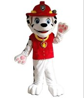 Wholesale 2016 New Patrol Chase mascot suit Patrol Marshall dog mascot costume cartoon character mascot suit Factory direct