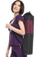 Wholesale Adjustable Yoga Bag Professional Yoga Mat Bag Multipurpose Breathable Mesh Bag