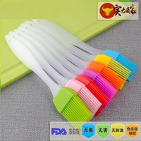 Wholesale Spot CM resistance to high temperature baking barbecue brush silicone oil brush cake cream cake baked hair brush