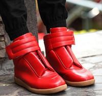 Wholesale Hot sales highest version Maison Martin margiela flat shoes leisure fashionable man help shoes