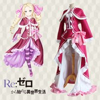 beatrice cosplay - Japanese Anime Re Life in a different world from zero Cosplay Beatrice Costume wrap top skirt socks per set