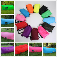 backpacking stuff - Fast Inflatable Lamzac Hangout Air Sleep Hiking Camping Bag Bags Bed KAISR Beach Sofa Lounge Only Ten Seconds Inflate With Pocket Colors