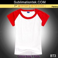 Wholesale Round Neck Short Sleeve Tee Lycra Material cotton T Shirt Blank red black orange blue white yellow pink rose shoulder Color