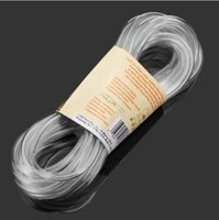 Wholesale Aquarium x6mm PVC Transparent Tube Airline Tubing cm Will never harden crack or kink