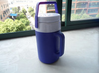 barbecue items - New arrival hot item L food drinks plastic cooler mug cold and hot outdoor barbecue beach drinks cooler