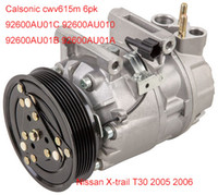 Wholesale for Nissan X trail T30 Calsonic CWV615M air compressor AU01C AU010 AU01B AU01A
