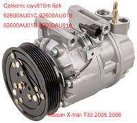 Wholesale Nissan X trail T30 Calsonic CWV615M air compressor AU01C AU010 AU01B AU01A