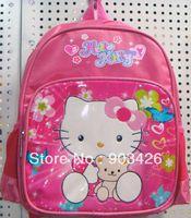Wholesale by DHL UPS High Quality Hello Kitty Children s School Bag Rucksack Cartoon School Backpack G2323
