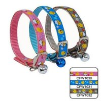 baby chick pet - 1 cm fashion cute baby chicks small cingulate with bell pet dog nylon collar