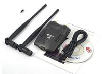 Wholesale Password Cracking USB Wireless BlueWay BT N9100 Beini free internet High Power mW Dual Antenna Wifi Decoder Ralink