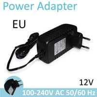 Wholesale H Universal Power Adapter Plug Socket Power Charger V A Meter EU Power Supply For H Wansview Dome Bullet IP Camera