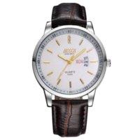 auto bosch - Bosch brand double calendar quartz watches fashion watches fine leather waterproof men s watches Cheap mens sport watch