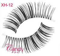 accent plastics - XH Synthetic False Eyelashes Fashion Glamour Accent Natural Eye Lashes