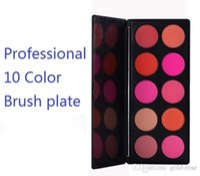 Wholesale HOT NEW Professional Color Brush GIFT vivid palette sets mineral loose Naked mineralize ph meter Above colors Makeup blush