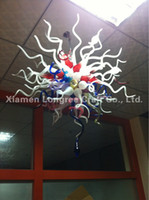 art glass suppliers - C20 China Supplier CE UL LED Light Borosilicate Dale Chihuly Design Indoor Interior Murano Glass Chandelier Pendant Lamps