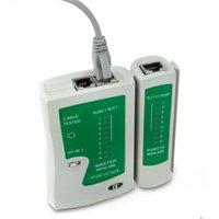 Wholesale RJ45 RJ11 RJ12 CAT5 UTP Network LAN USB Cable Tester Remote Test Tools