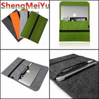 Wholesale for Apple MacBook Pro quot Inch Hand Hold Inner Notebook Case Felt Sleeve Handle Carrying Laptop Cover Bag for MacBook Pro