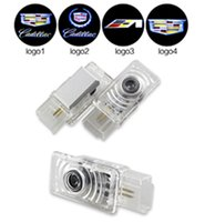 ats led - Car Door Logo Welcome Light LED Door Courtesy Shadow Ghost Lamp Projector Light for Cadillac SRX SXT ATS CTS