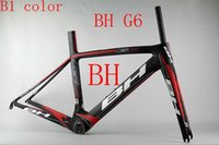 Wholesale NEW BH G6 Spain full carbon T1000 UD racing carbon road frame bicycle complete bike frameset size xs s m l