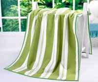 Wholesale Beach Towel large size cm The Water Cube Plaid towel for bathroom beach towel High quality Home textile
