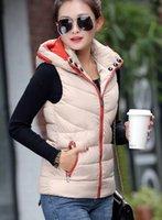 Wholesale 2016 autumn and winter new ladies cotton vest winter Korean version of large yards down jacket vest