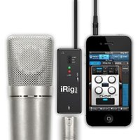 Wholesale iRig PRE IK MULTIMEDIA MICROPHONE PREAMP AUDIO INTERFACE FOR IOS DEVICES NEW iRIG Guitar Effects Brand New