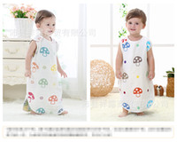 Wholesale summer Novelty Baby Vest Sleeping Bag Euro Brand Baby Infant Blanket Sleep Bag new Infant sleeveless romper